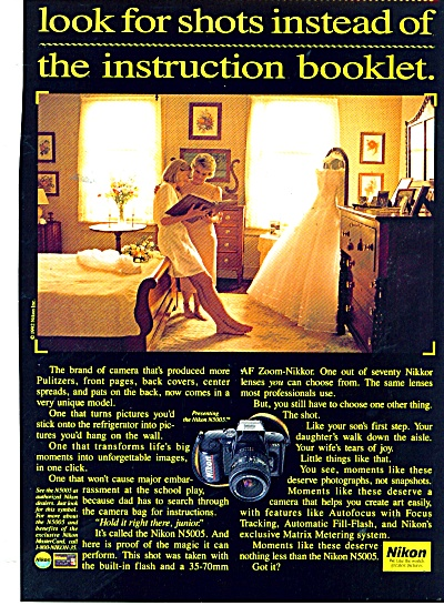 Nikon camera ad - 1992 (Image1)