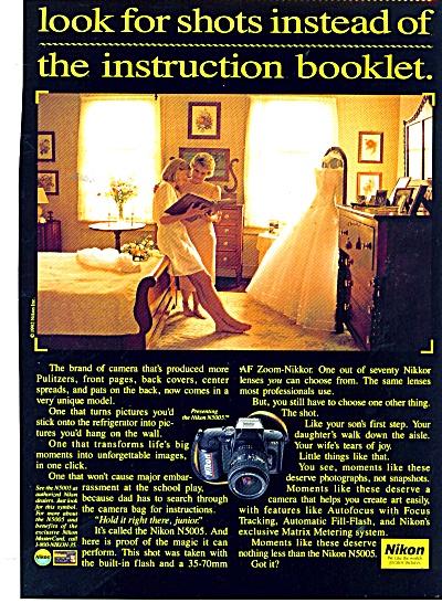 Nikon camera ad - 1992 (Image1)