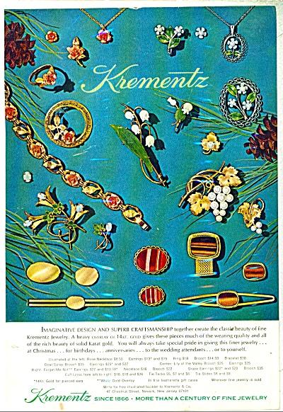 Krementz jewelry ad - 1971 (Image1)