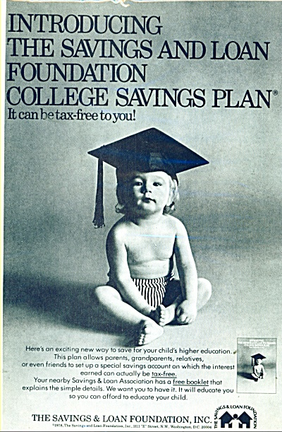 1978 Savings and Loan LITTLE BOY Swimsuit AD (Image1)
