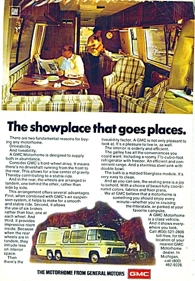 General Motors Motorhome ad - 1977 (Image1)