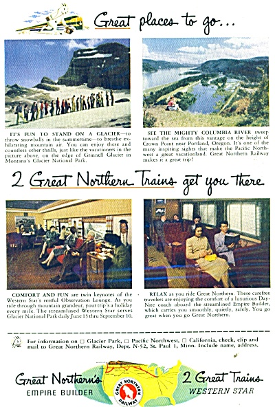 1952 Great Northerns Railway Great Pics (Image1)