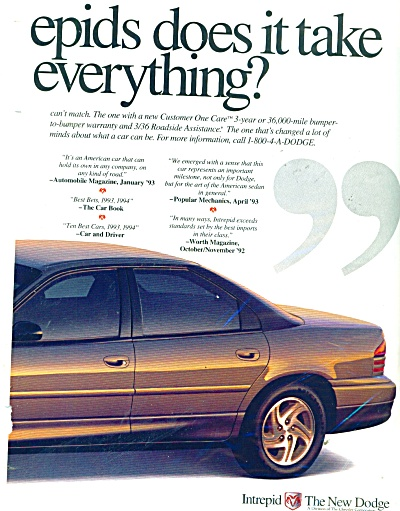 Dodge Intrepid auto ad - 1995 (Image1)
