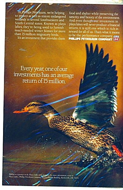 Phillips Petroleum Company ad  1995 (Image1)