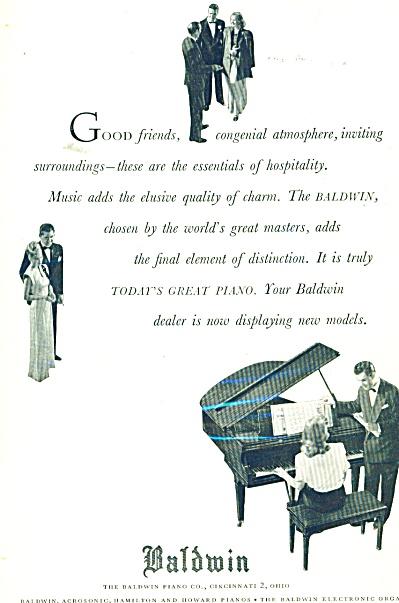 Baldwin Piano ad - 1947 (Image1)