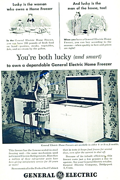 General Electric Home Freezer ad 1947 (Image1)