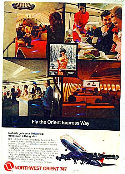 Northwest Orient 747 ad 1971 (Image1)