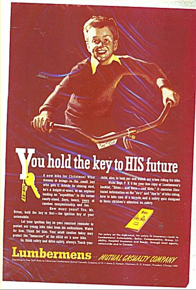 Lumbermens mutual casualty company ad - 1947 (Image1)