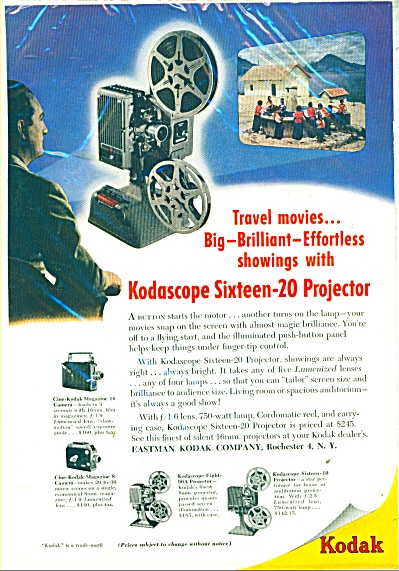 Kodak projectors and cameras ad 1948 (Image1)