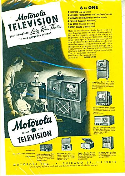 Motorola Television ad 1948 (Image1)
