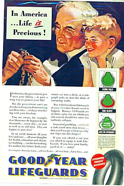Good year Lifeguards ad  1940 (Image1)