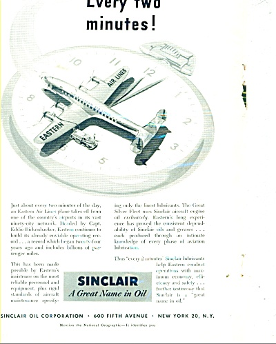 Sinclair oil corporation ad 1953 (Image1)