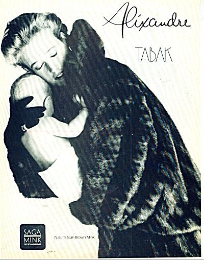 Saga Mink of Scandinavia ad Alixandre TABAK (Image1)