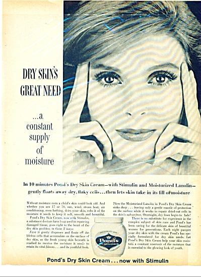 Pond's dry skin cream ad (Image1)