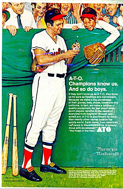 ATO Champions ad 1971 NORMAN ROCKWELL (Image1)