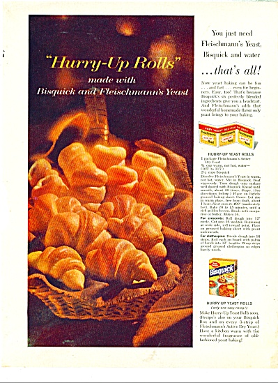 Bisquick - Betty Crocker - ad 1960 (Image1)