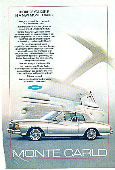 Monte Carlo automobile ad 1979 (Image1)