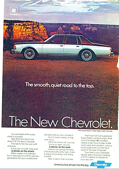1979 Chevrolet Caprice Sedan ad (Image1)