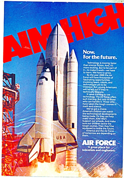 Air Force recruitment ad  1983 (Image1)