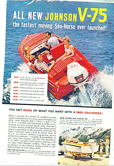 Johnson sea horse motors ad 1959 (Image1)