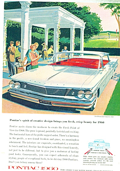 Pontiac Bonneville for 1960 ad (Image1)