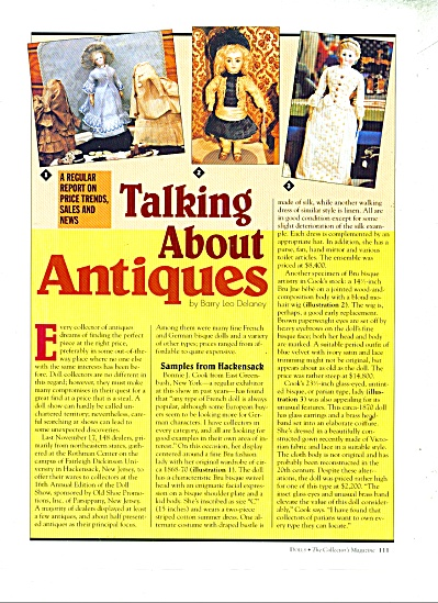 Talking about Antiques by Barry Leo Delaney (Image1)