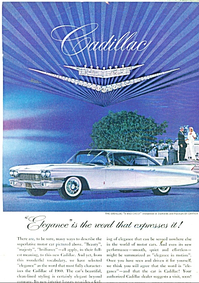 The Cadillac V and Crest ad 1959 (Image1)