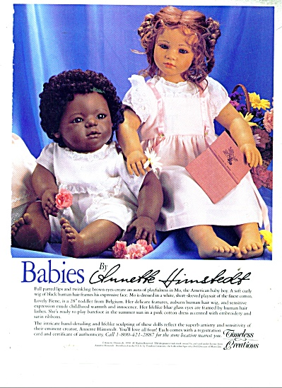 Baqbies by Annette Himstedt ad 1991 (Image1)
