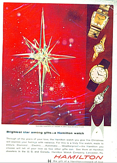 Hamilton watches ad 1959 (Image1)
