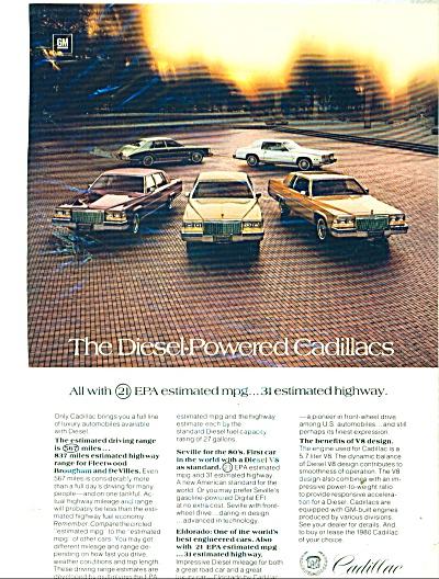 Cadillac automobile ad  1980 (Image1)
