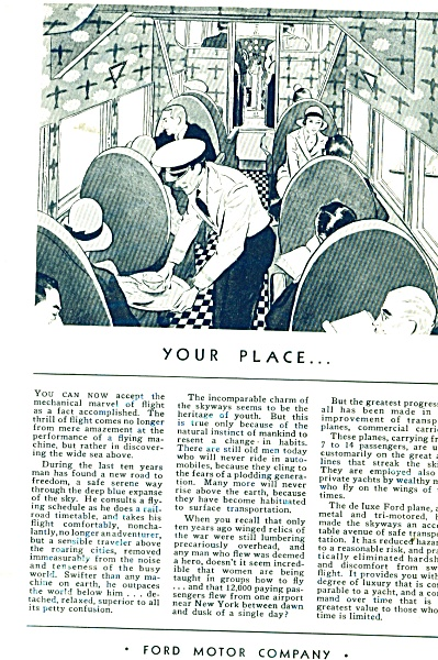 Ford Motor Company ad 1931 (Image1)