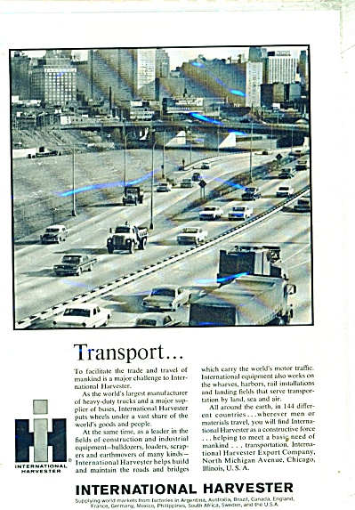 International Harvester transport ad - 1965 (Image1)