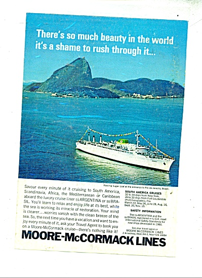 Moore-McCormack Lines ad - 1968 (Image1)
