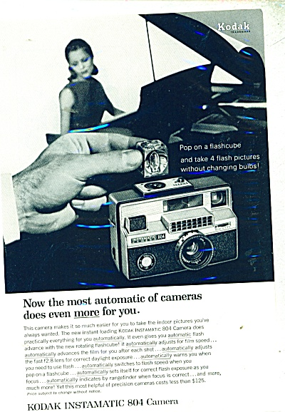 Kodak instamatic Camera - 1966 ad (Image1)