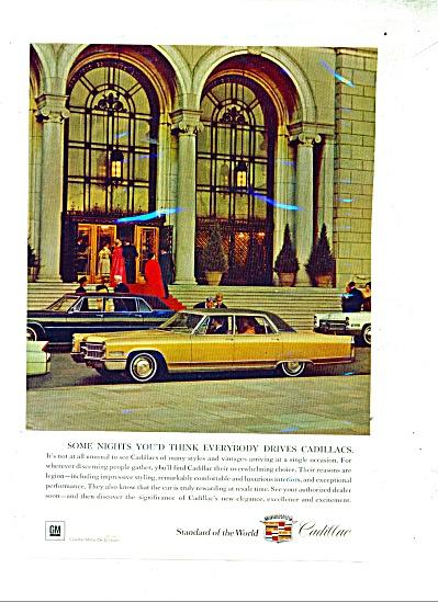 1966 Cadillac automobile ad - 1966 (Image1)