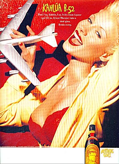Kahlua B-52 ad (Image1)