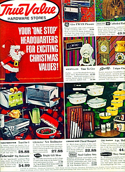 True Value Hardware Stores ad Vintage ITEMS (Image1)
