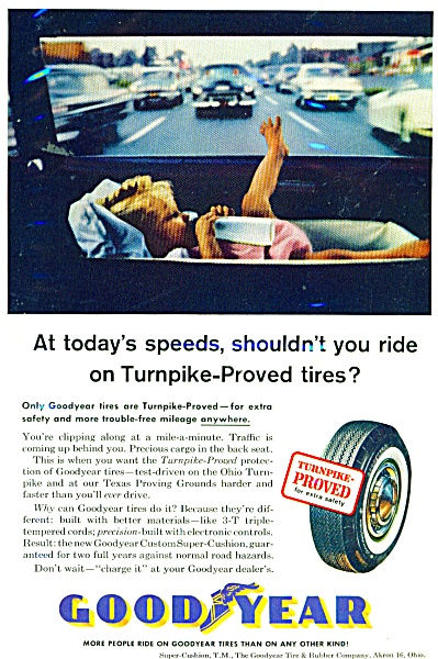 Goodyear tires ad 1961 (Image1)
