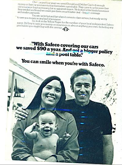 Safeco Insurance  Co.  1974 (Image1)