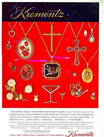 Krementz fine jewelry  ad (Image1)