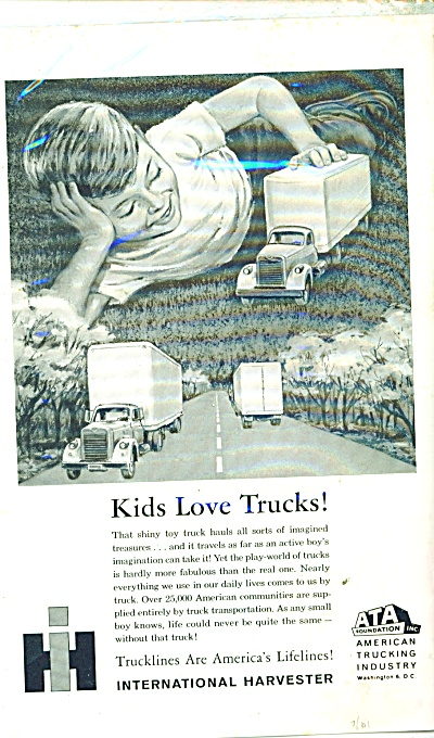 International Harvester Company ad 1961 (Image1)