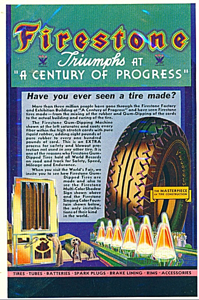 Firestone tires ad  1933 (Image1)