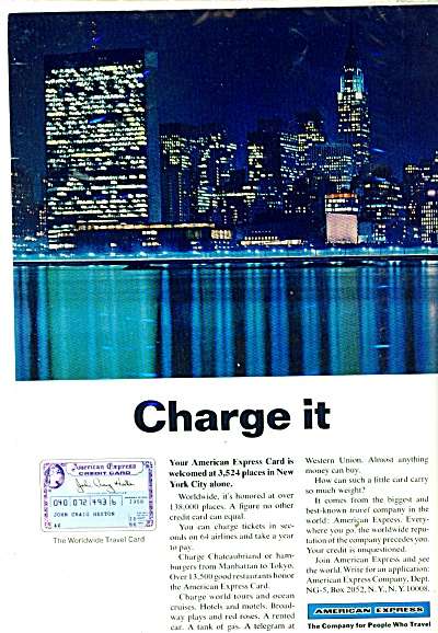 American Express ad  1966 (Image1)