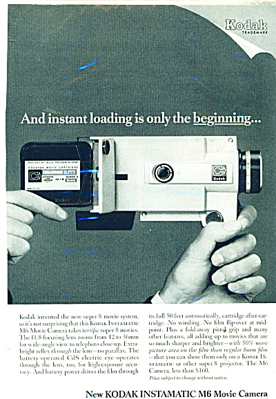 Kodak Instamatic movie camera ad 1966 (Image1)