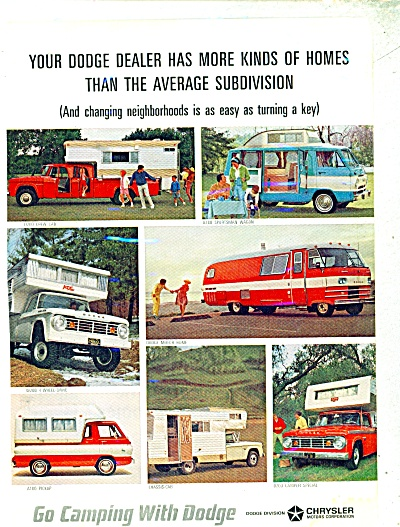 Go Camping with Dodge ad  1965 (Image1)