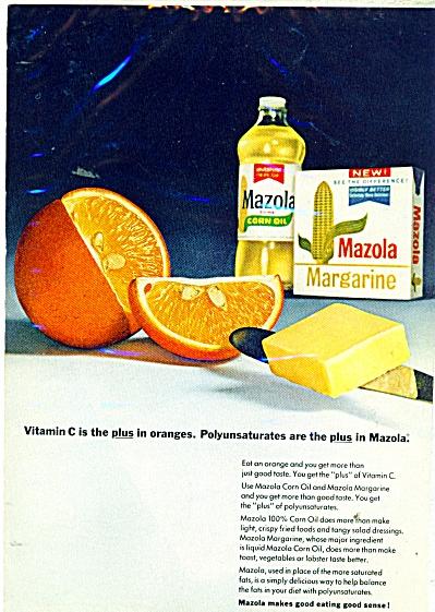 Mazola Margarine ad 1967 (Image1)
