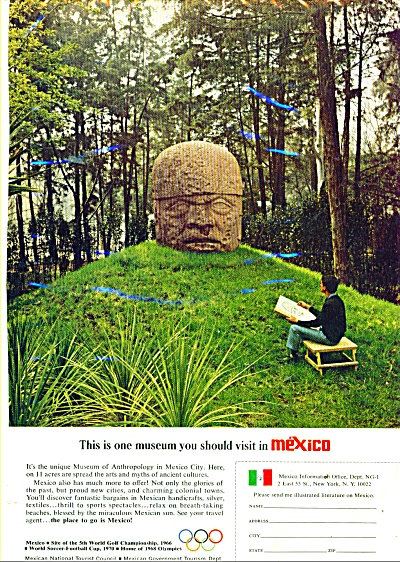 Mexico travel ad 1965 (Image1)