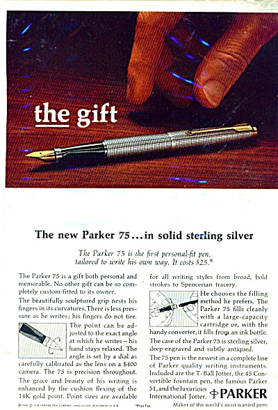 1950 Parker Parkette - 21 Fashion Pen Ad