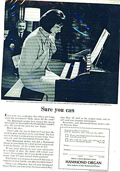 Hammond Organ ad 1965 (Image1)