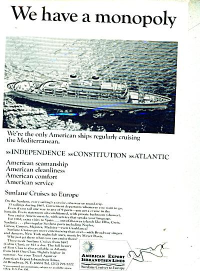 American Export Isbrandtrsen Lines ad 1965 (Image1)